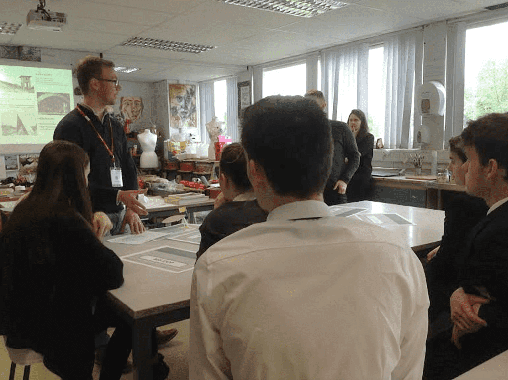 Exploring Architecture in the Art Department
