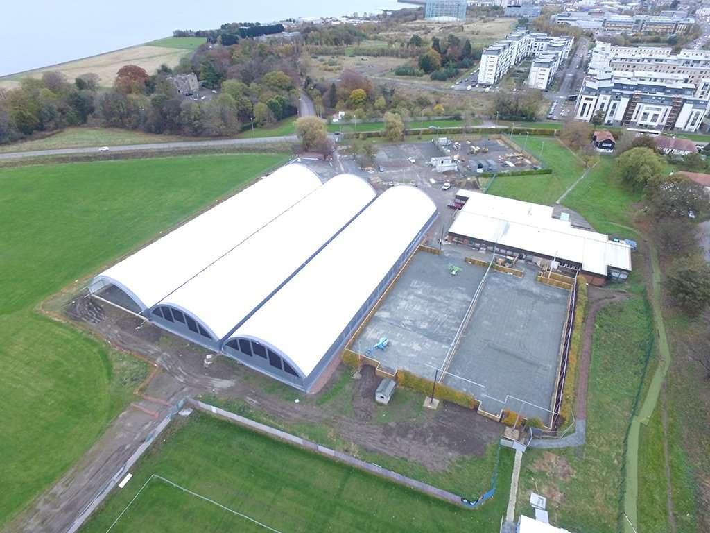 Site Progress at Marine Drive, World of Football ...