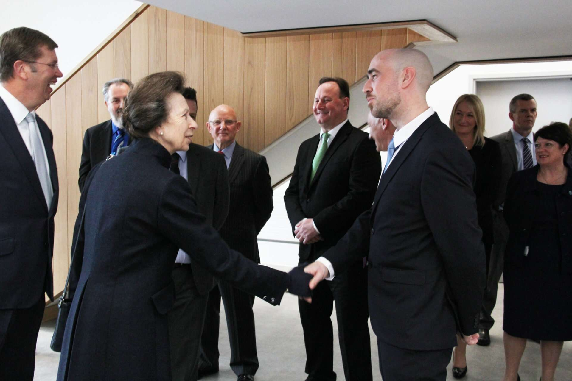 HRH The Princess Royal opens completed research facility