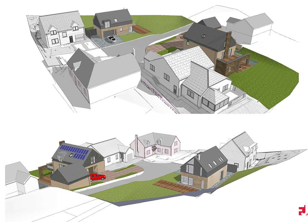 Planning Approval for a New Build Dwelling House in Jedburgh