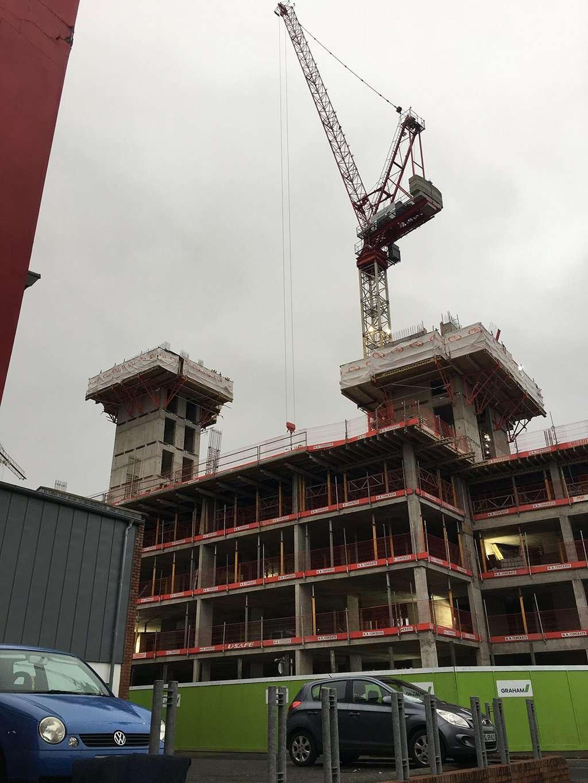 Site Works Underway at Little Patrick Street, Belfast